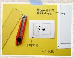 フォトパズルを作る際に用意するもの